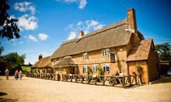 The Langton Arms, Tarrant Monkton, Blandford, Dorset, UK