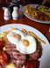 Gammon egg and chips at The Station, Port Erin, Isle of Man