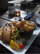 Kippers for lunch at The Creek Inn - Peel, Isle of Man